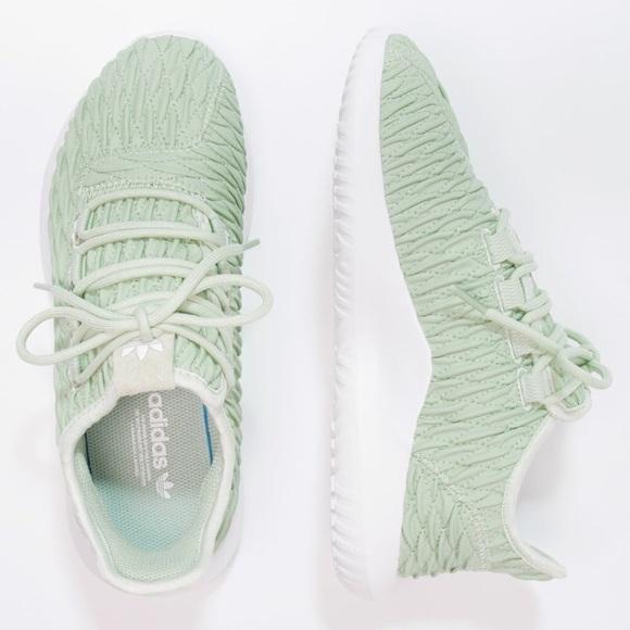 le adidas tubulare ombra mint dimensioni 75 nuovi poshmark
